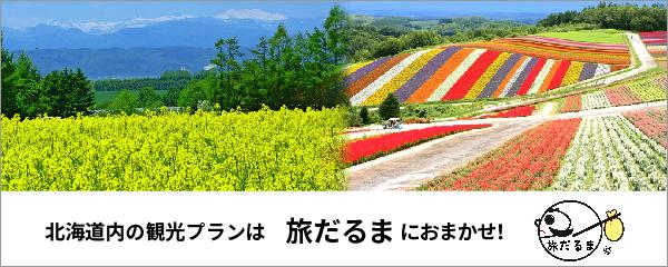 北海道内の観光プランは旅だるまにおまかせ!